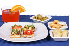 Appetizer And Aperitif Stock Images