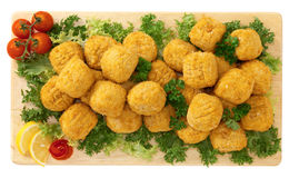 Appetizer, arancini of rice, Italian food Stock Photography