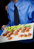 Appetizer being served Stock Photography