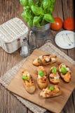 Appetizer bruschetta. Stock Images