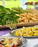 Appetizer Buffet - Wedding Royalty Free Stock Images
