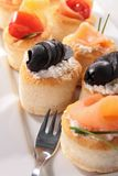 Appetizer,canape Royalty Free Stock Photography