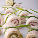 Appetizer, canapes Royalty Free Stock Photo