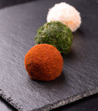 Appetizer, cheese balls Stock Photography