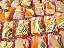 Appetizer close up stock photo