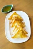 Appetizer Deep Fried dumplings Stock Image