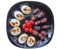 Appetizer dish Stock Image