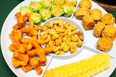 Appetizer or first course , Thai food Royalty Free Stock Photo