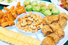 Appetizer or first course , Thai food Stock Photo