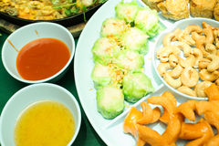 Appetizer or first course , Thai food Stock Photos