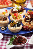 Appetizer food Stock Image