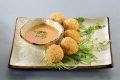 Appetizer food balls Stock Image