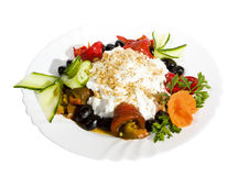Appetizer food, salads Royalty Free Stock Photography