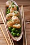 Appetizer of fried shrimp Stock Photography