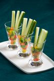 Appetizer glasses Royalty Free Stock Photography