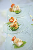 Appetizer In Party Stock Image