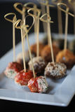 Appetizer meatballs Royalty Free Stock Image