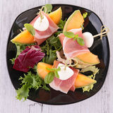 Appetizer melon Royalty Free Stock Photo