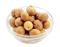 Appetizer of olives Stock Photos