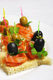 Appetizer Plate Stock Photography