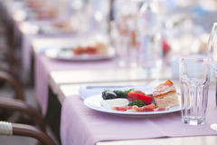 Appetizer plate Royalty Free Stock Photography
