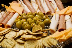 Appetizer Platter Royalty Free Stock Photography