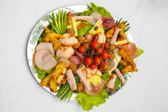 Appetizer platter Stock Photography