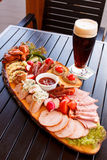 Appetizer in the pub Stock Photography