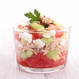 Appetizer, salad Royalty Free Stock Image