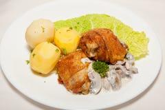 Appetizer, salad, tasty food, appetite Royalty Free Stock Image