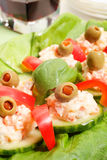 Appetizer. Selective focus Royalty Free Stock Photo