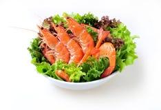 Appetizer of shrimp Royalty Free Stock Image