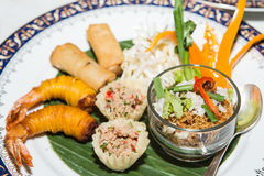 Appetizer of Thailand Royalty Free Stock Image