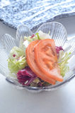 Appetizer tomato salad Royalty Free Stock Photography