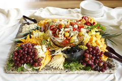 appetizer tray royaltyfri bild