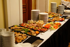Appetizer variation Stock Photography