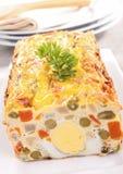 Appetizer, vegetable cake/terrine Stock Photos