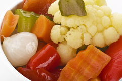 Appetizer vegetables Stock Images