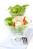 Appetizer With Prawn Royalty Free Stock Image