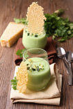 Appetizer, zucchini and parmesan Royalty Free Stock Images