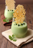 Appetizer, zucchini and parmesan Stock Photo