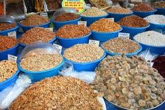 Appetizers at bazaar Stock Photo