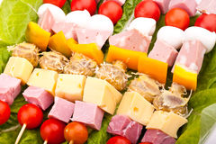 Appetizers Mix Royalty Free Stock Images