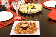 Appetizers On A Table Royalty Free Stock Image