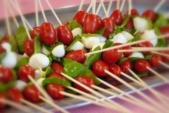 Appetizers at a Party Stock Photography