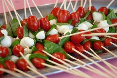 Appetizers at a Party Stock Image