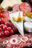 Appetizers platter Stock Photo