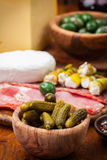 Appetizers platter Royalty Free Stock Photography