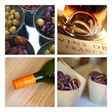 Appetizers and wine Royalty Free Stock Image