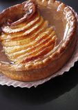 Appetizing apple tart Stock Photos